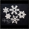 Pack of 5 snowflakes