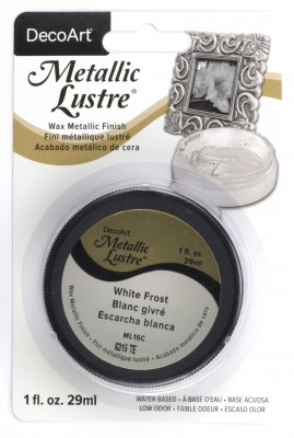 Metallic Lustre: WHITE FROST