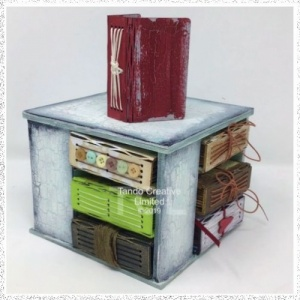 Mini Book Tower and 12 Books