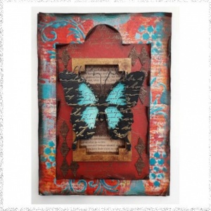 Online Workshop: Butterfly Frame