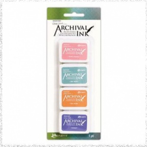 Wendy Vecchi Archival Mini Ink Pad Kit 3