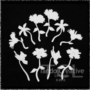 Flowers with stems grab bag
