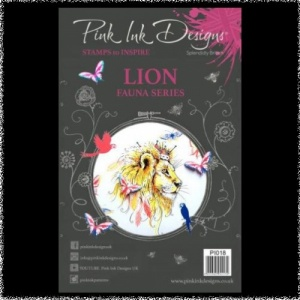 Pink Ink Designs: Lion A5