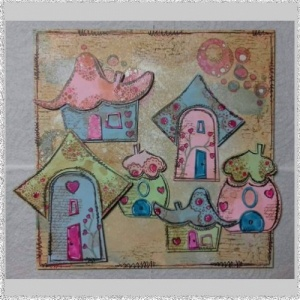 Whimsical Houses set 2