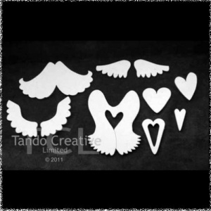 Wings and Hearts Set