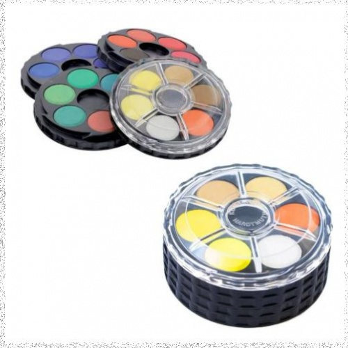 Koh i Noor Watercolour Disk Compact Set