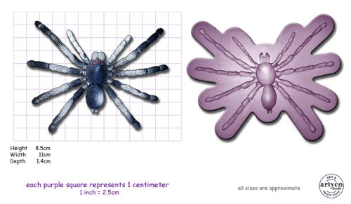 Artyco Spider Large Mould