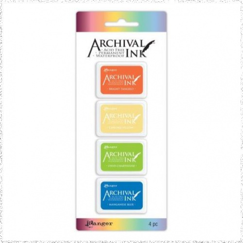 Archival Mini Ink Pad Kit 3
