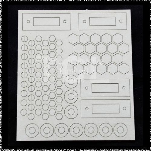 Andy Skinner Industrial Elements Bolts/Washers sheet