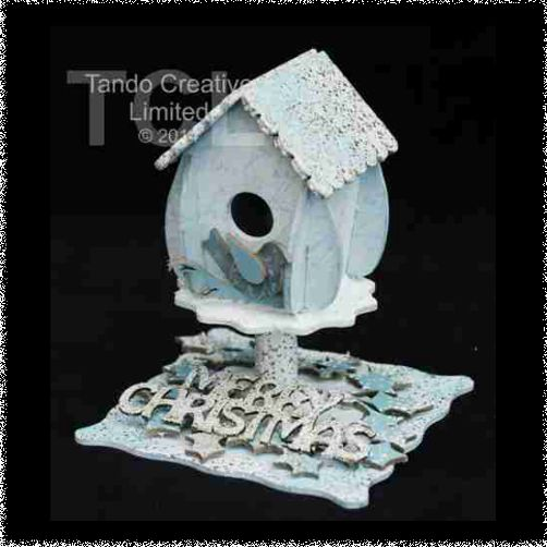 Christmas Birdhouse Kit