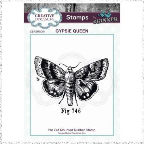 CE Rubber Stamp by Andy Skinner Gypsie Queen