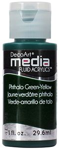 Fluid Acrylics: Phthalo Green-Yellow
