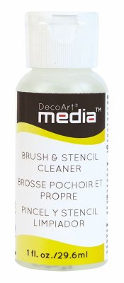 Media: Brush and Stencil Cleaner