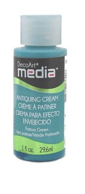 Media Antiquing: Patina Green