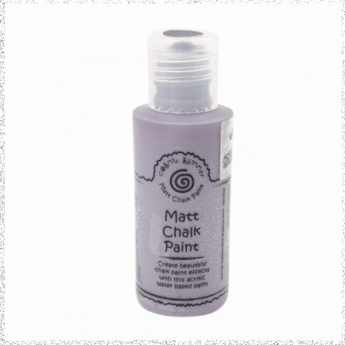 Cosmic Shimmer Andy Skinner Matt Chalk Paint Grey Haze 50ml