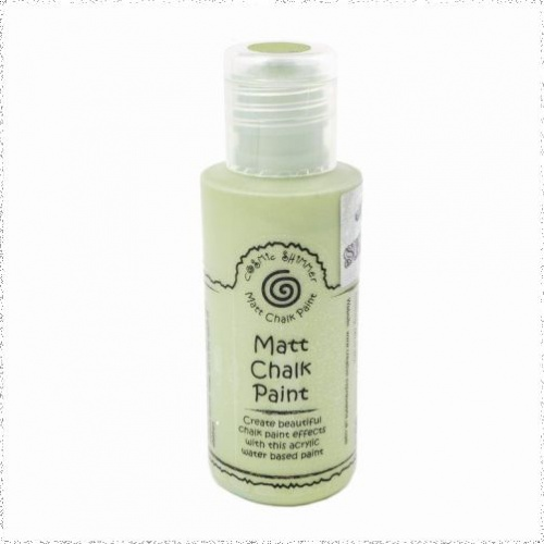 Cosmic Shimmer Andy Skinner Matt Chalk Paint Olive Grove 50ml