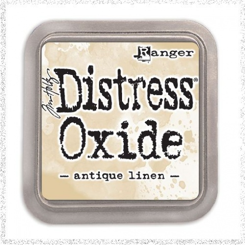 Distress Oxide: ANTIQUE LINEN