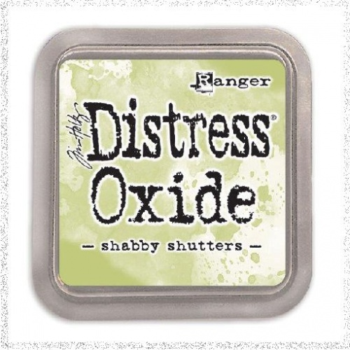Distress Oxide: SHABBY SHUTTERS