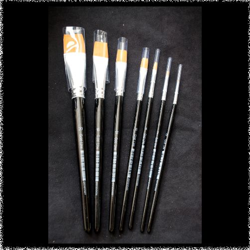 Goldline Flat Brush size 0