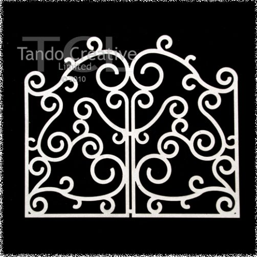Wrought Iron Gate Small
