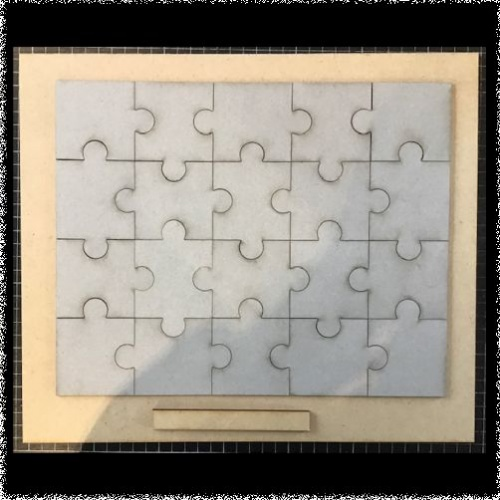 Jigsaw Puzzle and MDF board