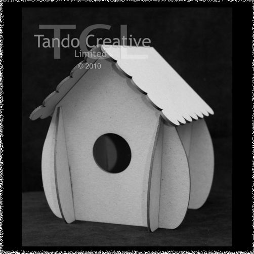 Mini 3D Birdhouse
