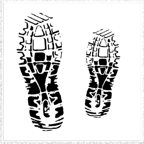 Stencil/Mask: Footprints