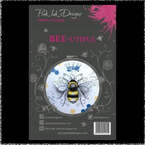 Pink Ink Designs: Bee-utiful A5