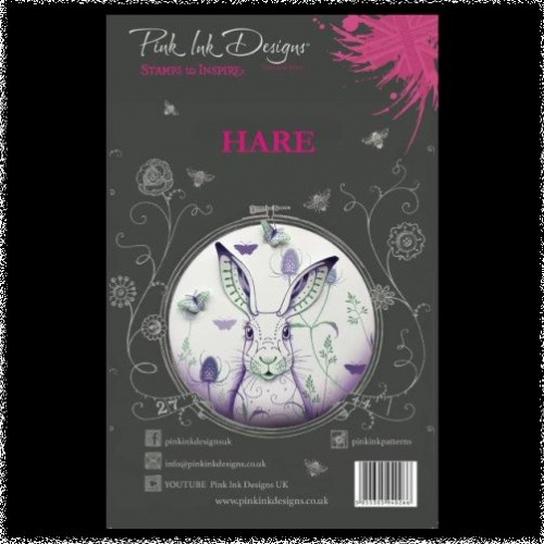 Pink Ink Designs: Hare A5