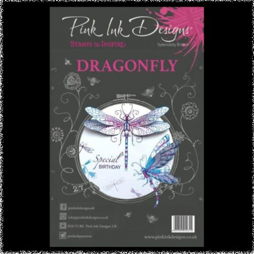Pink Ink Designs: Dragonfly A5