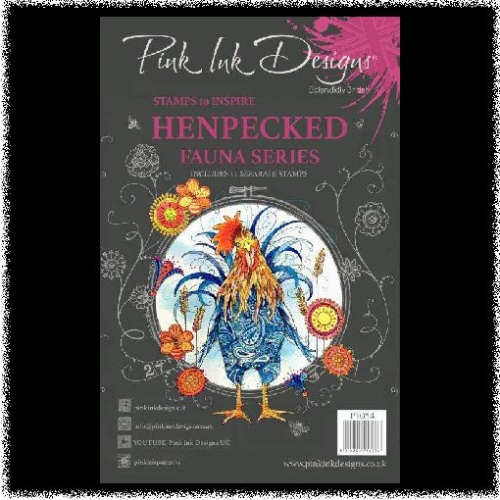 Pink Ink Designs: Henpecked A5