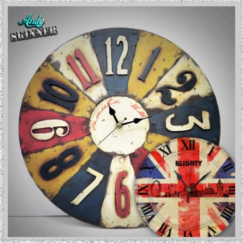 Andy Skinner Reversible Clock Large