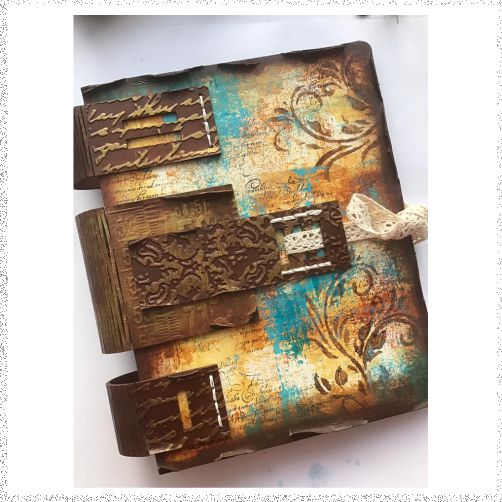 Online Workshop: Triple Spine Binder project