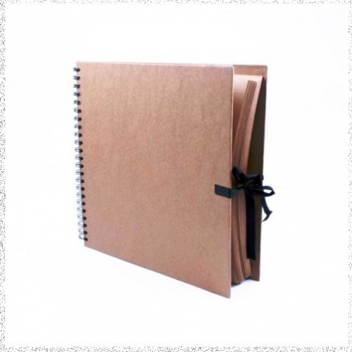 Seawhite 300mm x 300mm Kraft Work / Display Book