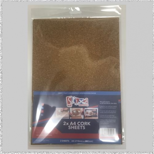 A4 Cork Sheets 2 per pack