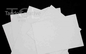 5 Pack of 12'' x 12'' Chipboard Sheets