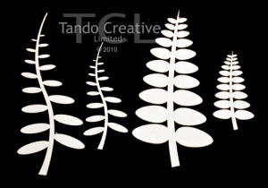 Tall Leaves - set of 4