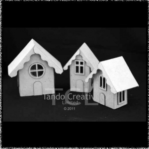 Mini House Trio with accessories