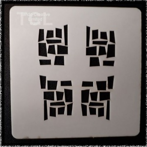 Mini Stencil - Blocks