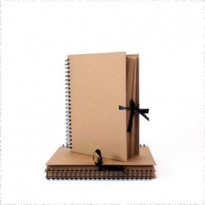 Seawhite A4 Kraft Work / Display Book